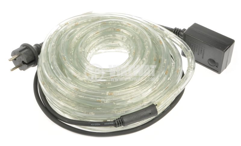 LED hose, blue, 24LED/m, 10m, 19.2Wmax, 220VAC, IP44, waterproof - 2