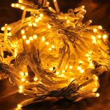 LED christmas lights type curtain, 1.5x2m, 35W, warm white, IP44, 300 LEDs