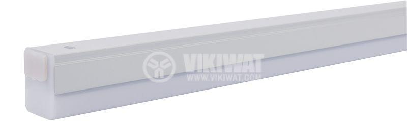 LED лампа за стена 7W, LEDLINE, 220VAC, 560lm, 3000K, топлобяла, 543mm, BN10-00700 - 2