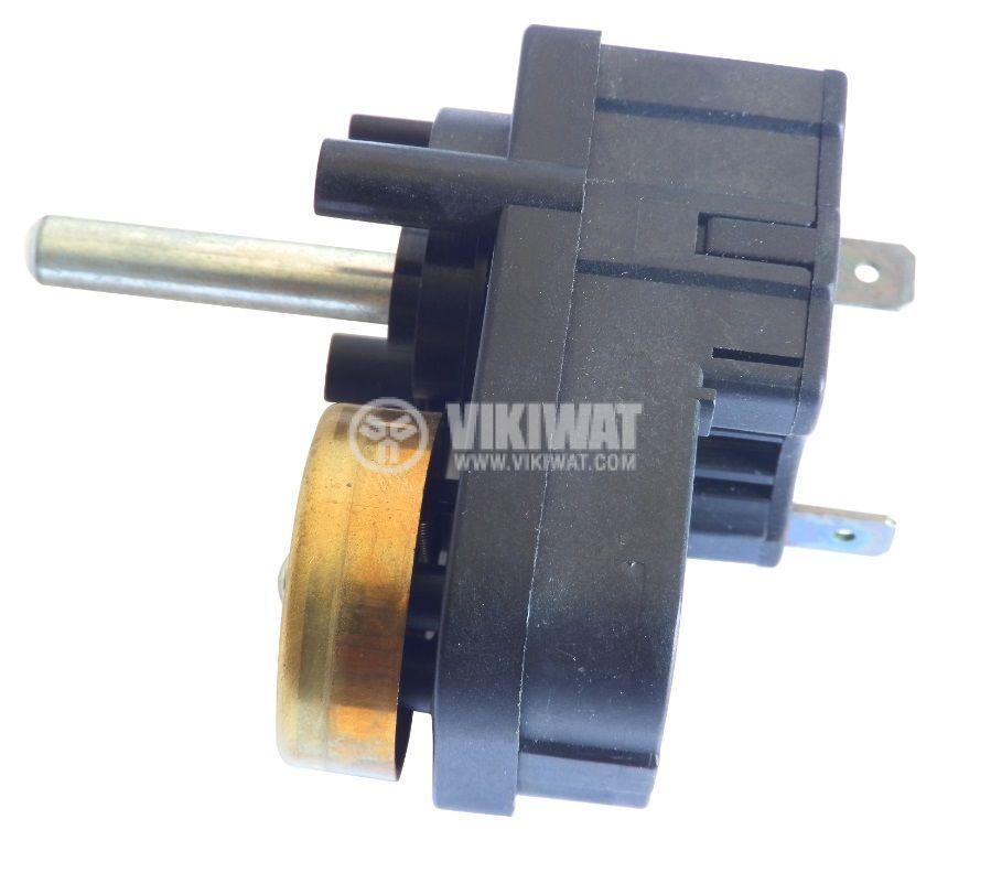 Таймер MI7, за микровълнова, електромеханичен, със звънец, NO, 250 VAC, 16 A, обхват от 0 до 6 min