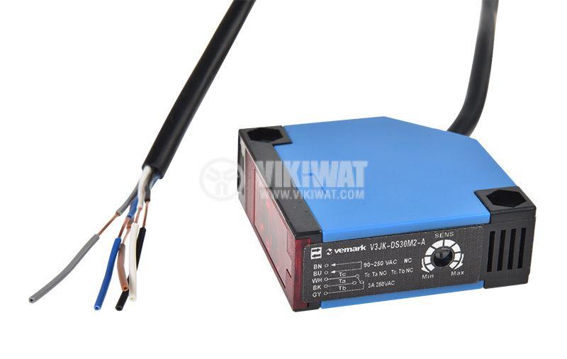 Оптичен датчик с обхват 25 mm - 3