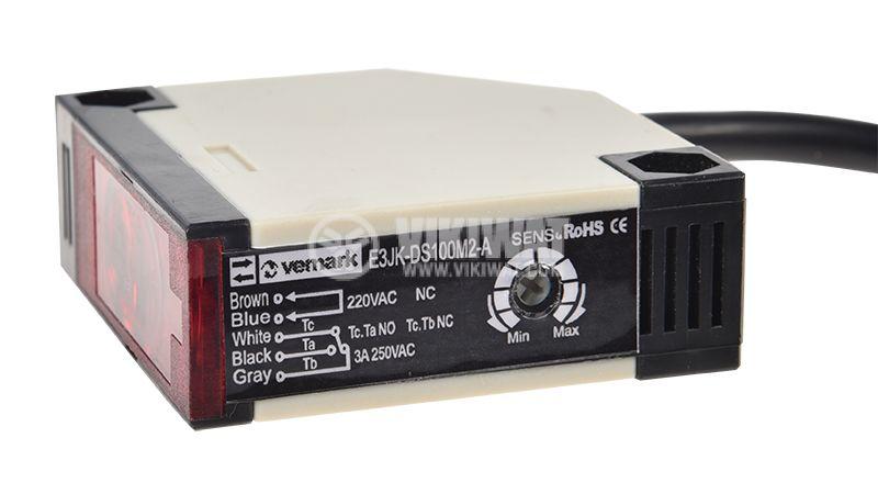 Оптичен сензор E3JK-DS100M2-A - 2