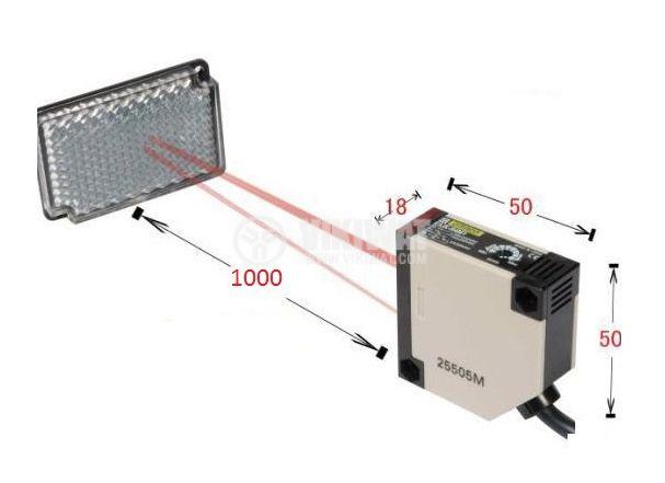 Оптичен датчик обхват 0.1m - 4