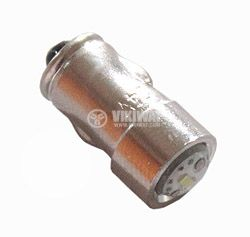 Автомобилна LED лампа, BA7S, 12VDC, бяла - 1