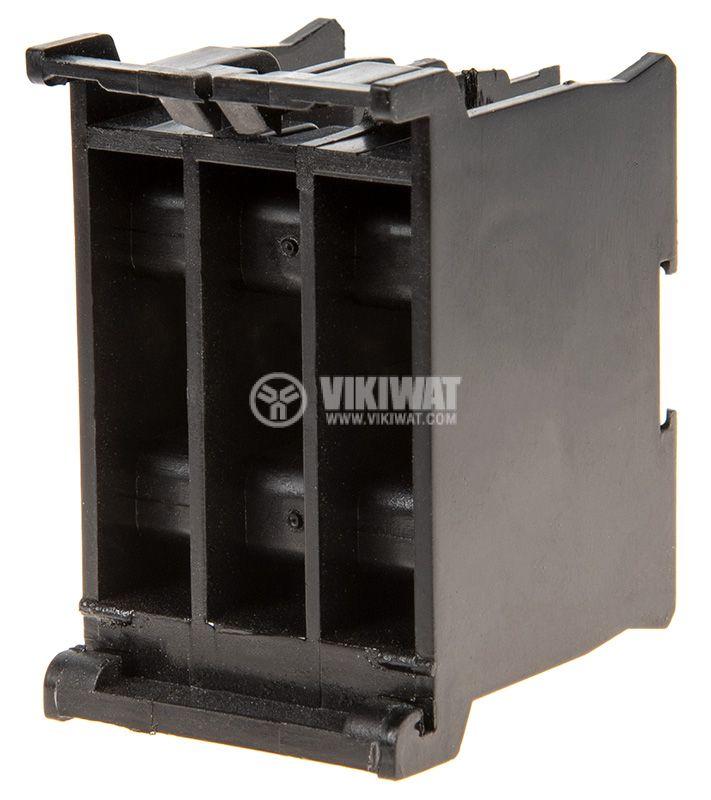 Клеморед за DIN шина, 3 полюсен, за проводник със сечение 8mm2, бакелит - 3