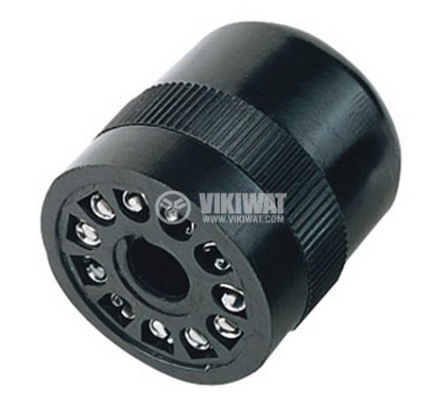 Relay Socket US11 300VAC 10A 11pin - 1