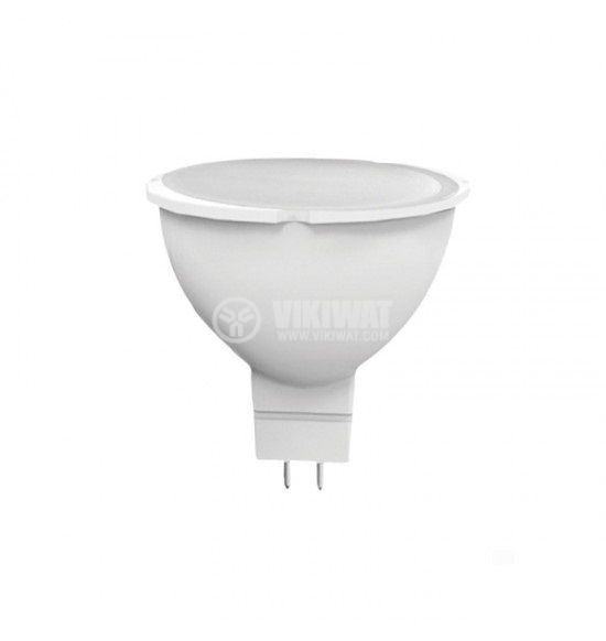 LED (светодиодна) лампа Plastic 3W 12V AC/DC GU5.3 NW 4000K Lightex