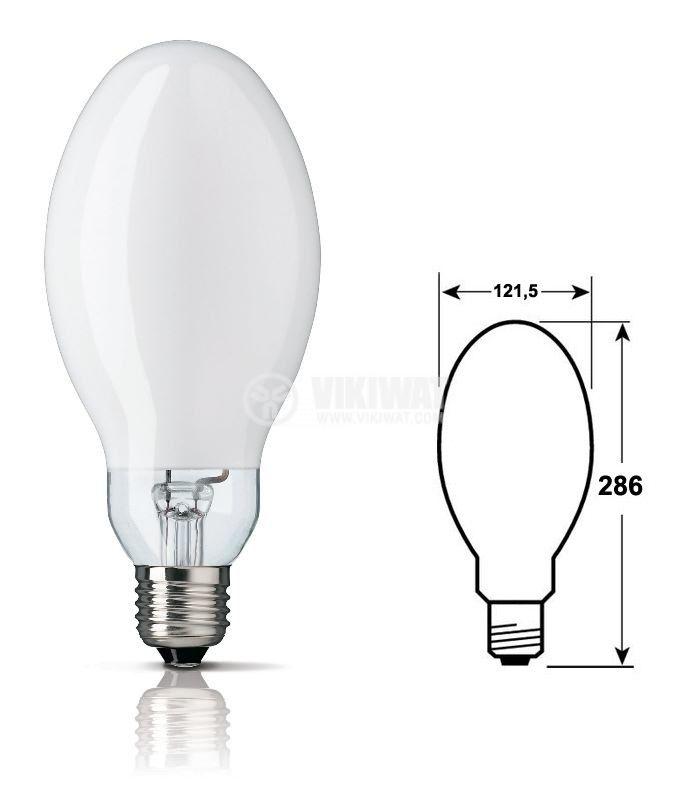 Mercury Lamp, HPL-N, 400 W, E40