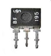 Транзистор BF195, NPN, 30 V, 0.3 A, 0.22 W, 200 MHz, TO92 - 1