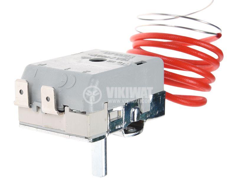Capillary thermostat, RT8804, +50 °C +190 °C, NC, 16 A / 250 VAC - 2
