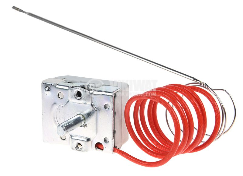 Capillary thermostat, RT8804, +50 °C +190 °C, NC, 16 A / 250 VAC - 3