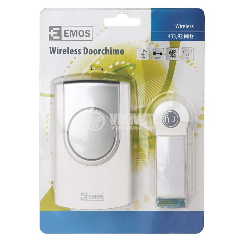 Wireless doorbell EMOS 98098 - 4