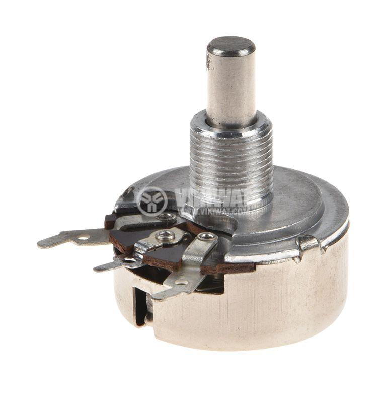 Potentiometer Linear Tape 5kOhm, Mono, THT - 1
