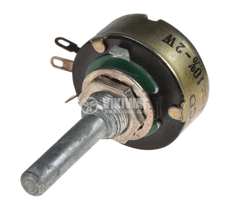 Potentiometer TELPOD DG-106, axial, linear, 470Ohm, wired - 3