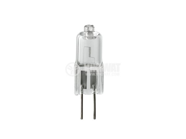 Халогенна ампула ZE0501, G4, 12 V, 16 W, 2700 K, бяла