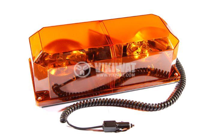 Emergency signal light, TR515, 12 V, rotary
