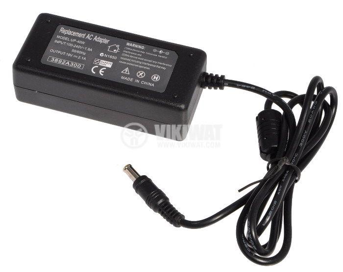 Зарядно за лаптоп ASUS 100-240V/19V 2.1A 40W 6x2