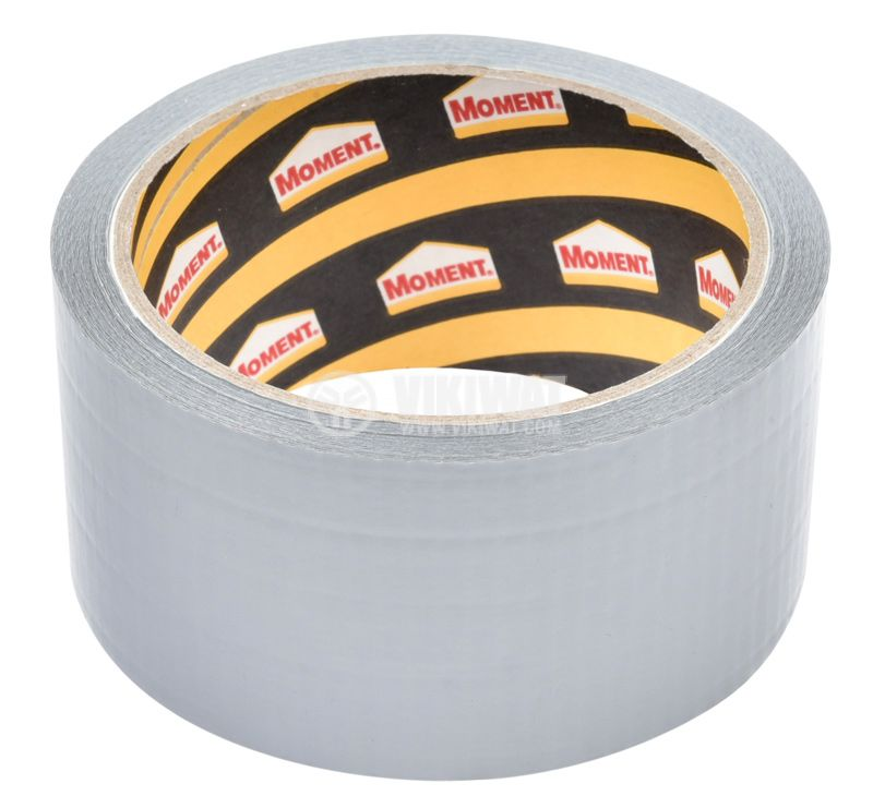 Adhesive tape, universal, reinforced, silver, 50mm x 10m - 3
