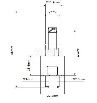 Халогенна лампа LT03058 24V, 150W, GY9.5, за операционни лампи - 2