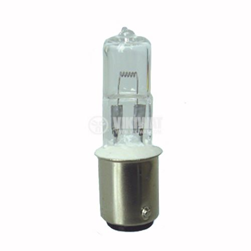 Halogen Lamp BA15D, 24VDC, 50W - 1