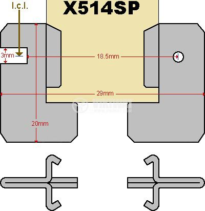 Halogen Bulb X-514, 100W, 24V - 2