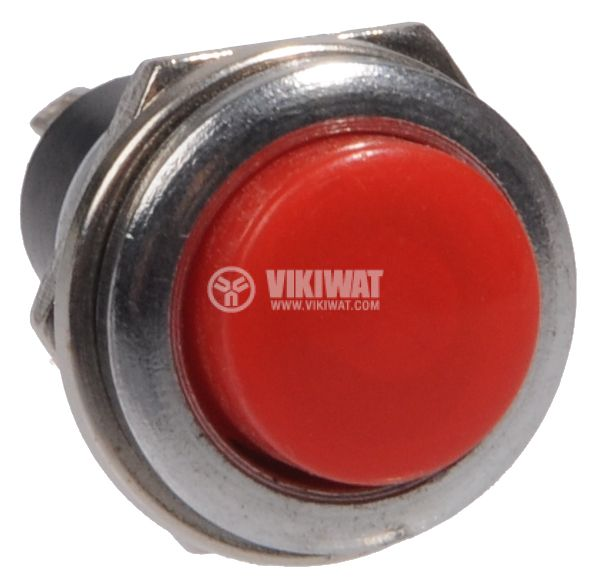 Button Switch, NO, red - 2