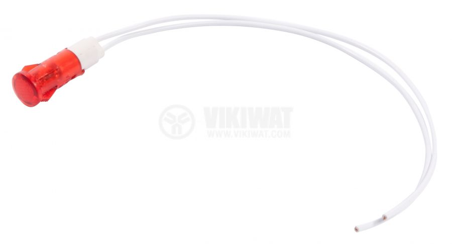 glim indicator lamp  220v 10x35mm red viiwat com