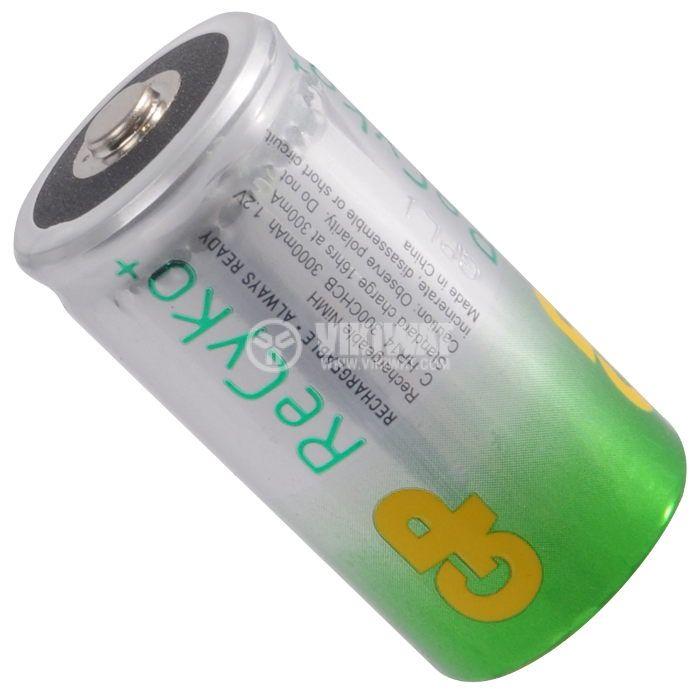 Акумулаторна батерия 1.2VDC, 3000mAh, C, Ni-Mh - 2
