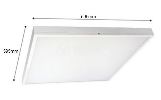 LED panel BN06-6610, 50W, 220-240V, IP20, 4200K, daylight, 595x595mm - 1