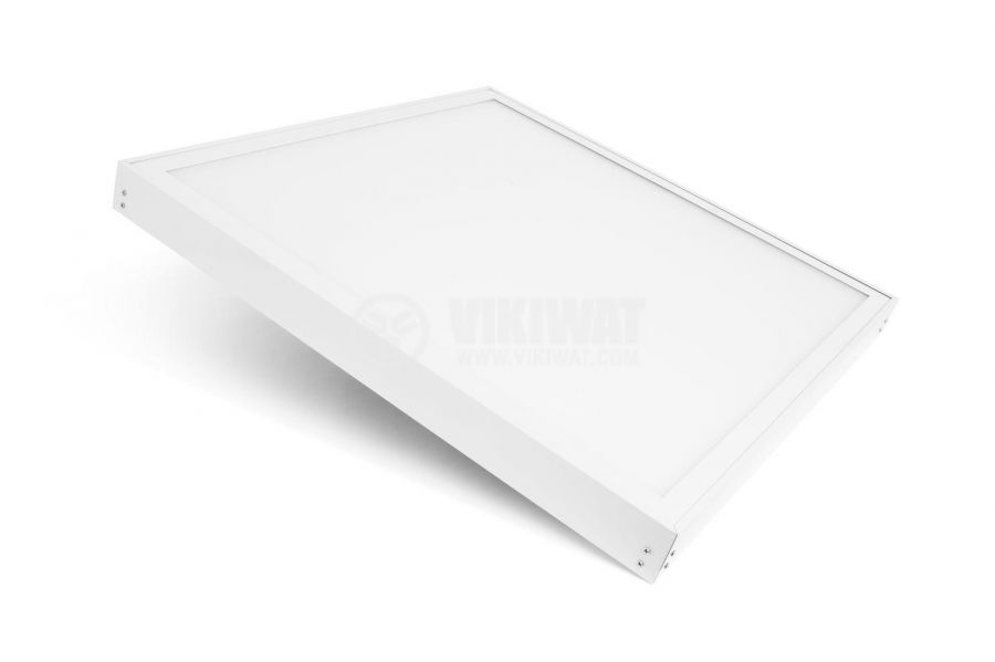 LED panel 50W, square, 220VAC, 4000lm, 4200K, neutral white, 600x600mm, surface mounting, BP21-06610 - 4