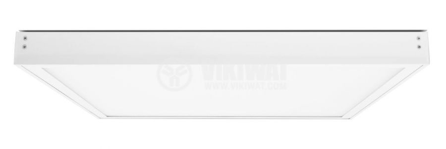 LED panel 50W, square, 220VAC, 4000lm, 4200K, neutral white, 600x600mm, surface mounting, BP21-06610 - 5
