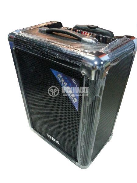 """Portable karaoke system S-10 10"""" 50W 220V 12V - 1"""