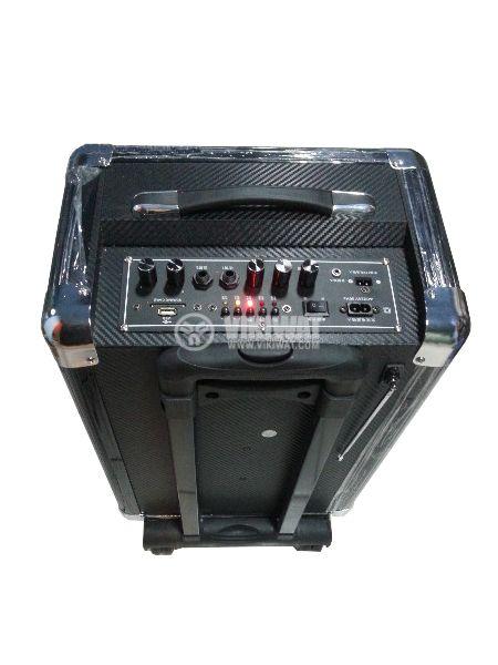 """Portable karaoke system S-10 10"""" 50W 220V 12V - 3"""