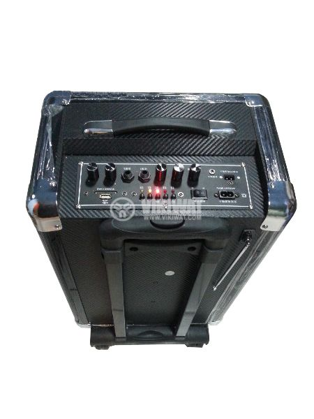 "Портативна караоке система S-10 10"" 50W 220V 12V - 3"