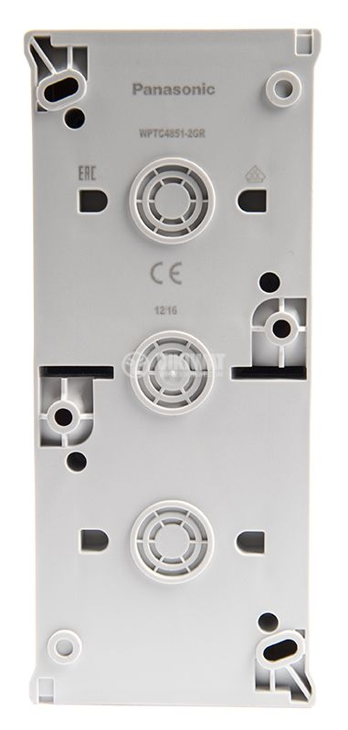 Electrical contact, 16A, 250VAC and power switch, circuit 1, 10A, 250VAC, IP54 - 3