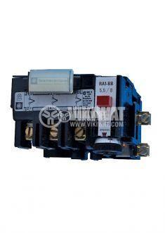 Thermal relay, RA1-116, three-phase, 1-1.6 A, SPST - NC, 1 A, 380 VAC - 2