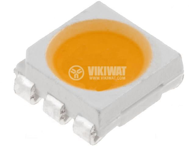 LED diode red, 5.5-6.5lm, smd