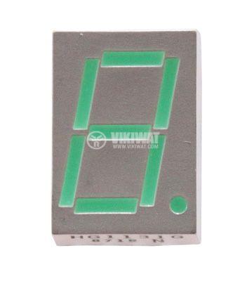 Индикатор HG1131G 7 сегмента h-12mm зелен
