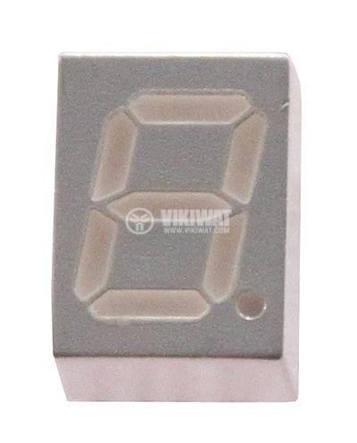 Индикатор HG1075G 7 сегмента h-7mm зелен