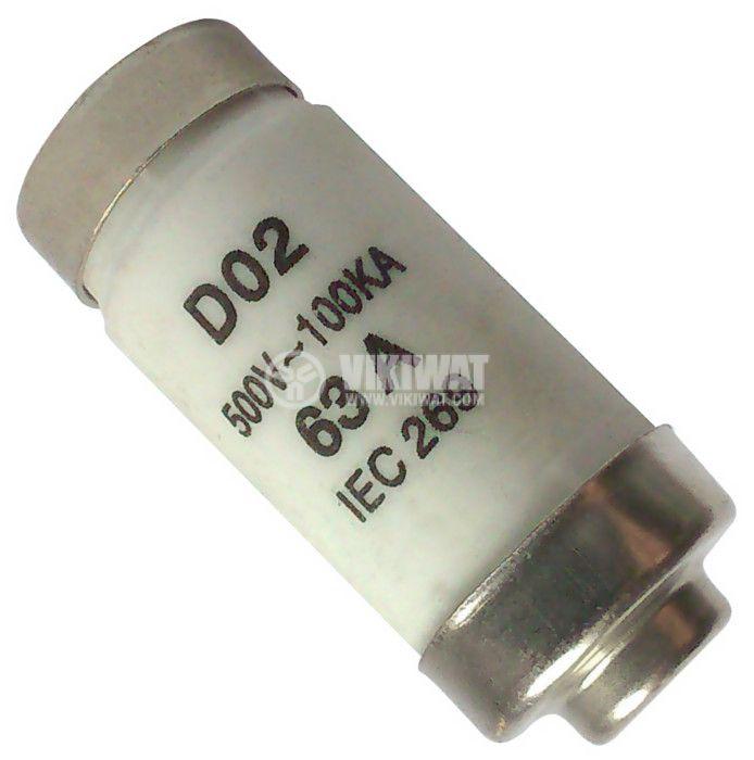 Предпазител керамичен D02