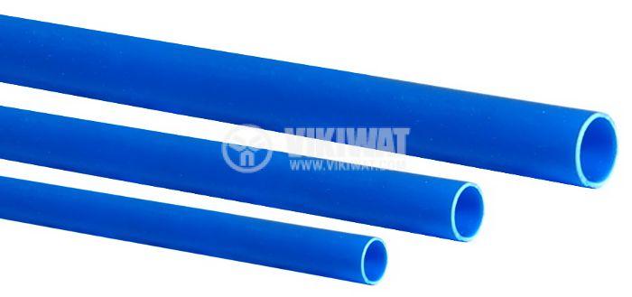 Шлаух термосвиваем ф2.5mm син