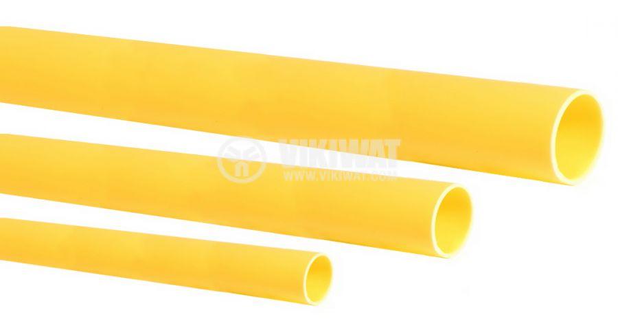 Шлаух термосвиваем ф3.5mm жълт