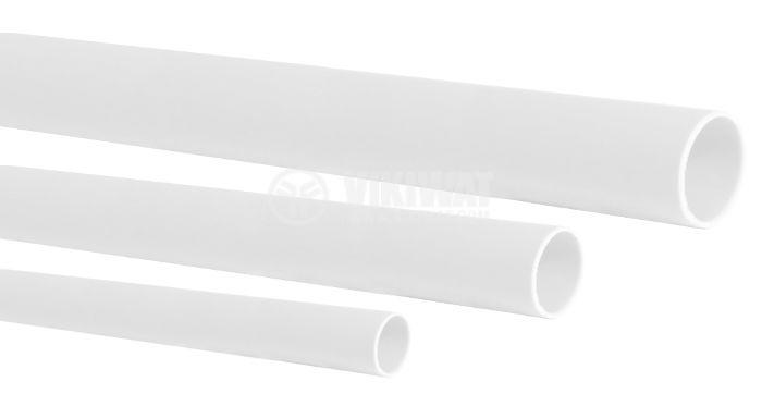 Шлаух термосвиваем ф3.5mm бял