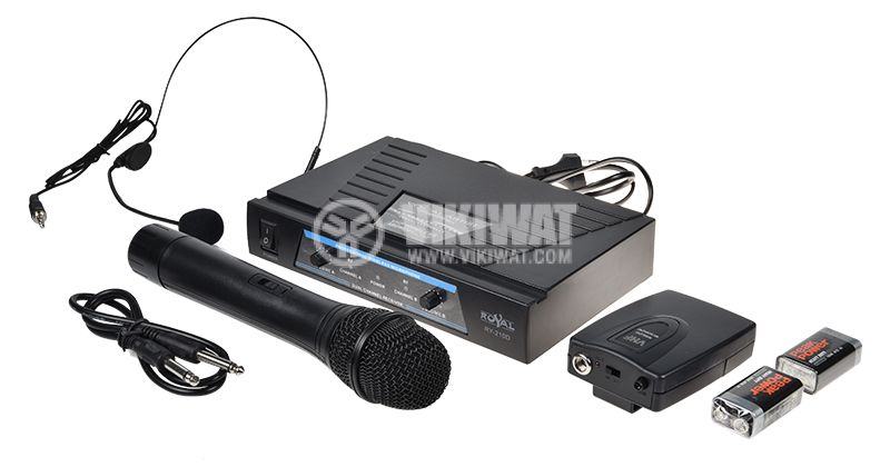 Pofessional Wireless Microphone and Headset WG-007  - 1