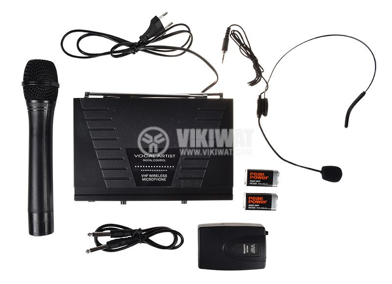 Pofessional Wireless Microphone and Headset WG-007  - 2