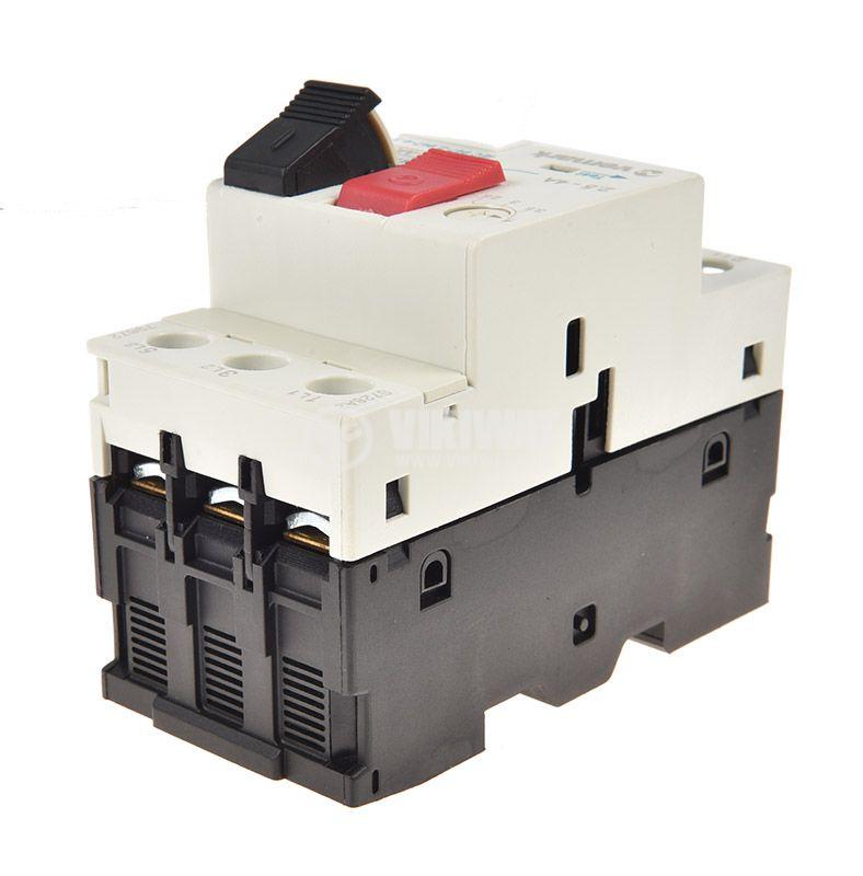 Моторна защита по ток, GV2-M08, трифазна, 2.5-4 A - 4