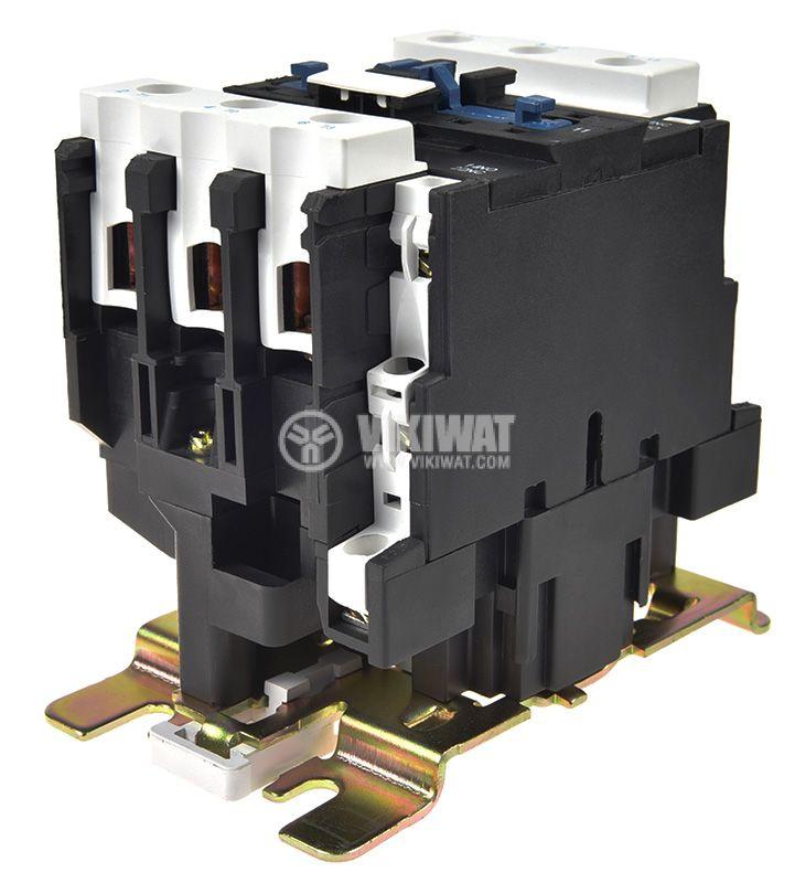 Contactor, three-phase, coil 220VAC, 3PST - 3NO, 50A, CJX2-D50, NO+NC - 4