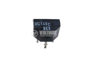 Транзистор BC148C, NPN, 30 V, 0.1 A, 0.35 W, 300 MHz, SOT25 - 1