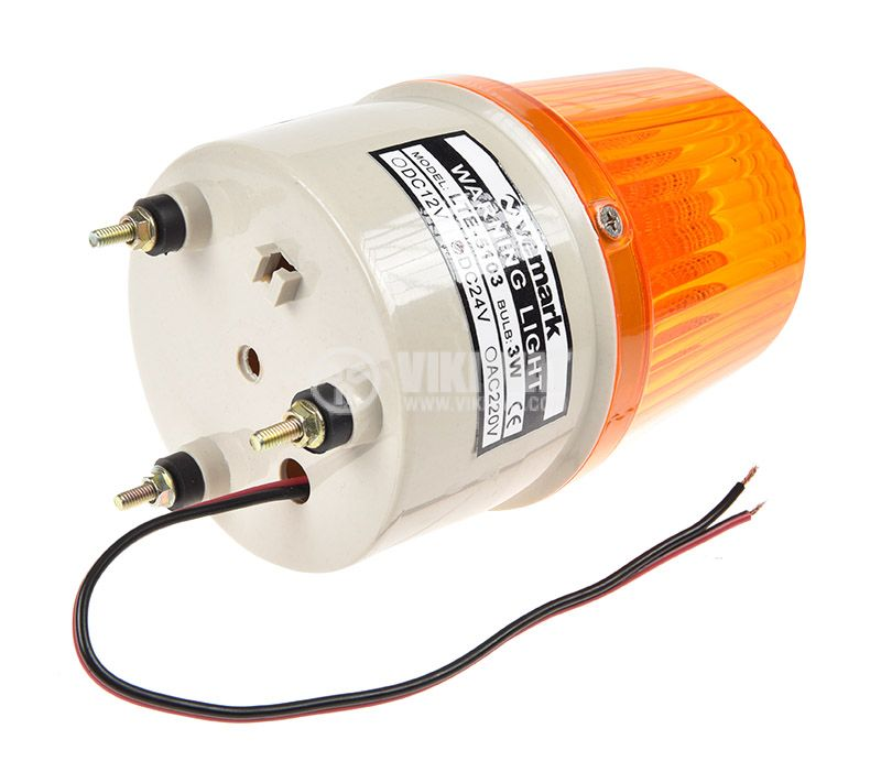 Ротационна лампа LTE-5103 24V 3W за камион - 2