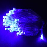 Christmas Decoration Rope Type, 3.7m, blue, AA Batteries, 40 LEDs